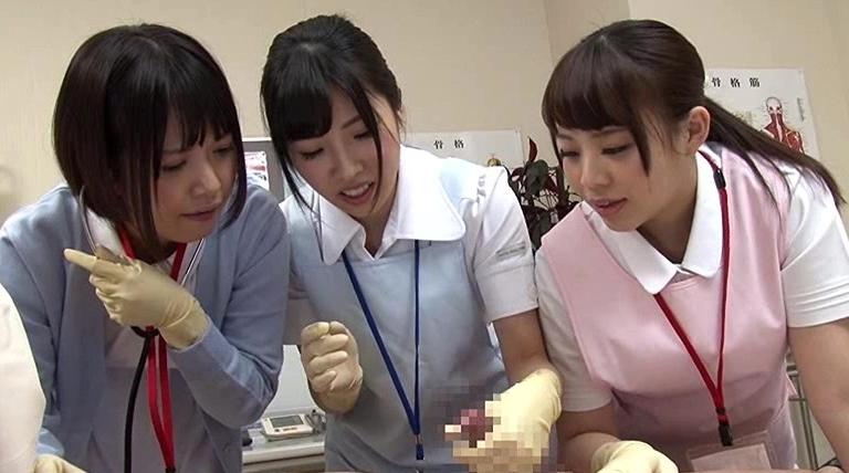 短小・包茎・早漏のお悩み相談 泌にょう器科のナースのお仕事の脚フェチDVD画像6
