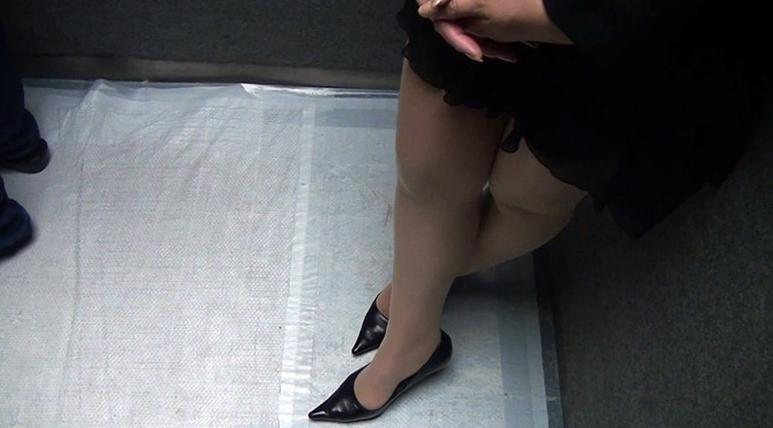 街角日常にあるスラリ美脚に萌える Vol.2の脚フェチDVD画像2