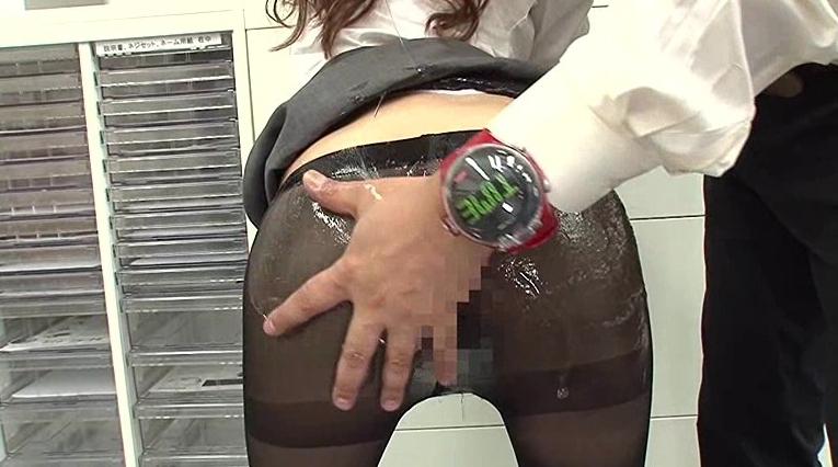 真・時間が止まる腕時計パート9の脚フェチDVD画像2