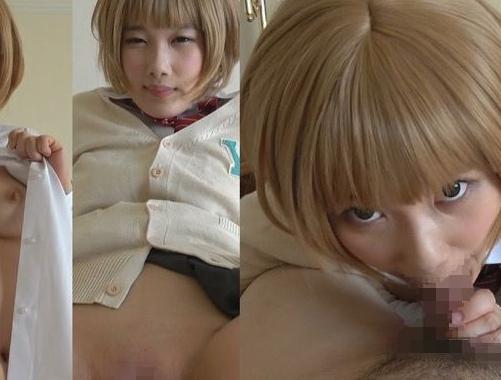 アイドルアニメのコスプレ美少女が可愛いプニプニ足裏で足コキの脚フェチDVD画像3