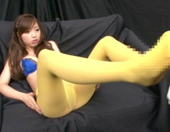 美脚モデルのパンストやハイソックス足コキやブーツコキで足射の脚フェチDVD画像5