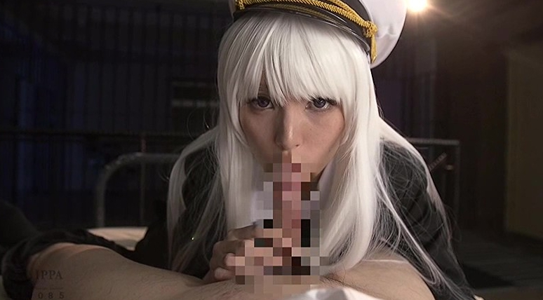 艦隊美少女コスプレイヤーの脚フェチDVD画像1