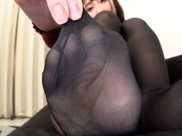 パンストフェチ必見!美脚美女のパンスト足コキや着衣SEXの脚フェチDVD画像2