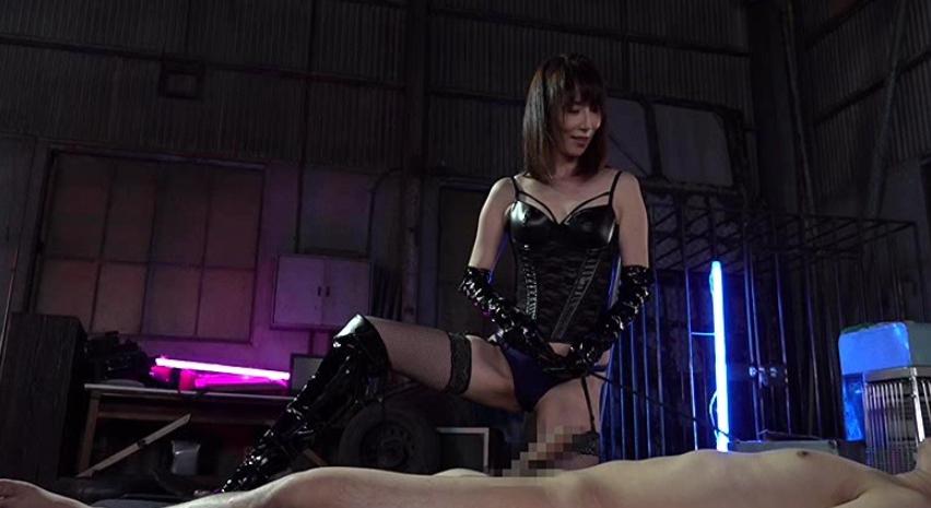 レイコ女王様のM男調教 澤村レイコの脚フェチDVD画像1
