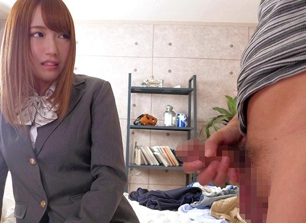 枯れ専のオジサン好き女子校生がパンスト足コキや中出しセックスの脚フェチDVD画像1