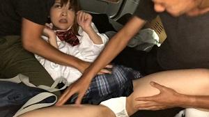 下校中に、失踪した女子校生がスマホで撮影されたレイ○映像…犯されまくり、本物中出しされ続ける全記録。