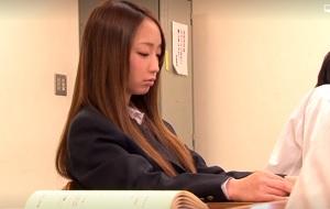 茶髪の美少女女子校生が調教される日