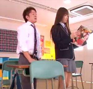 希志あいの教室で絶頂セックス