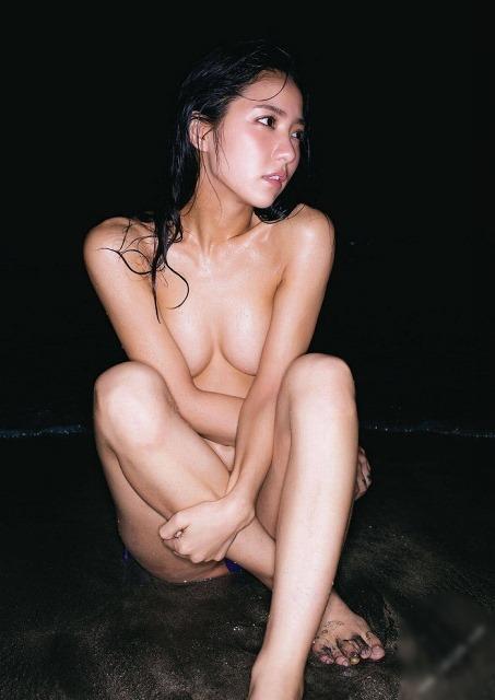 【石川恋(CanCamモデル)・写真集(LOVE LETTERS)で裸体セミヌード】画像88枚