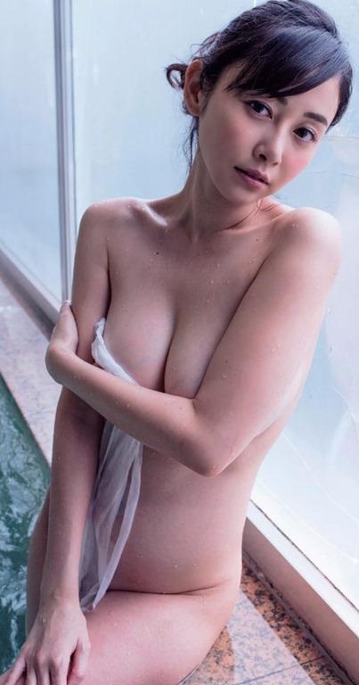 (杉原杏璃(G乳房)・写真集(ANRI)週プレ他で裸セミぬーど)写真65枚