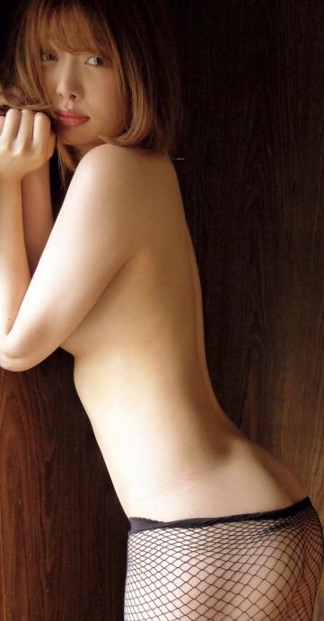 (萌木七海(七海に改名)が決意の175㎝裸セミぬーど)写真69枚