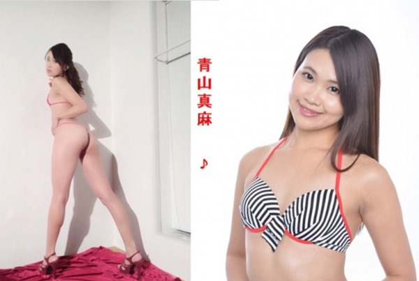 青山真麻ヌード1
