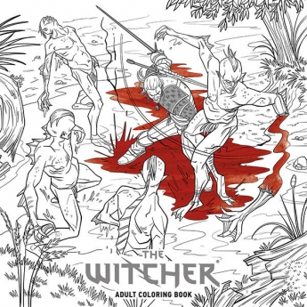 The Witcher Adult Coloring Book 表紙