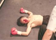 デビュー戦で倒されたバリカン健二