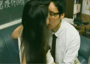 キスされる恵子