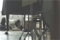 生徒とレズっているサラ