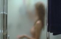 入浴している、ある女子生徒