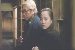 義父の由夫といる菊子