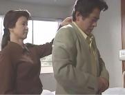夫のスーツを直す