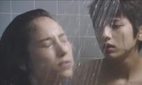 シャワーを浴びてるとミチルが来て