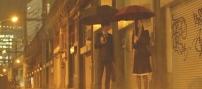 雨の中、待ち合わせ