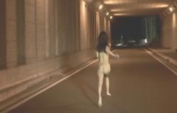 全裸で走るフランチェス子