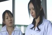 当時、女子更衣室の前で椎名先生を見たっていう