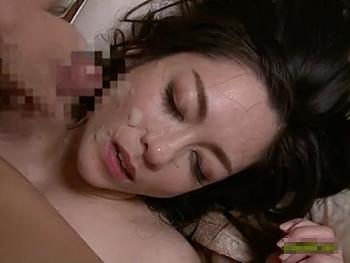 熟女お母さんの締まりの良い膣が最高だったので顔射フィニッシュ!児玉るみ