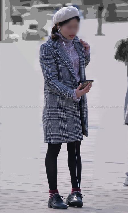 ■vol337-美脚シルエットが際立つ網タイツ&黒タイツの魅力♪