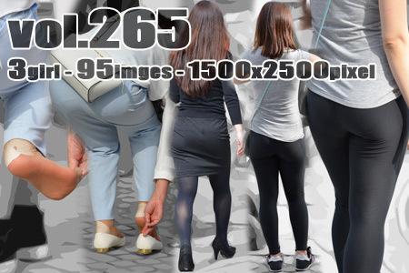 vol265-そそるぴったり美尻の食い込みヒップライン
