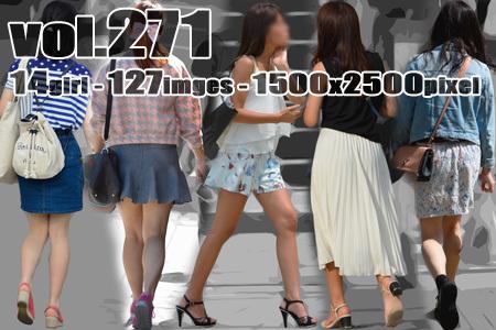 ■ ■vol271-ムチムチっと女性らしい生美脚ライン
