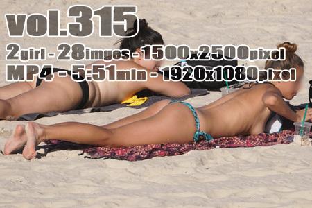 ■ ■vol315-ビーチで日焼けトップレス外ギャル(動画+画像)