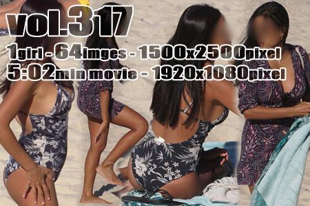 ■ ■vol317-スイムウェア姿の豊満巨乳エキゾチックギャル(画像&動画)