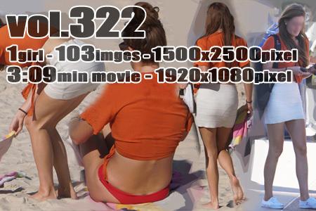 ■ ■vol322-ビーチで着替える美乳バストのブラジリアンビキニギャル(Photo&Movie)