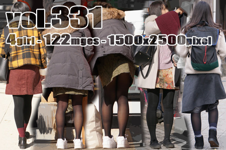 ■ ■vol331-美脚を包む質感の良い黒タイツ
