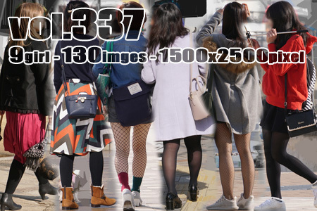 vol337-美脚シルエットが際立つ網タイツ&黒タイツの魅力♪