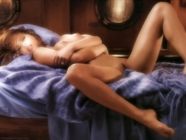 トランプの愛人カレン マクドゥーガルのヌード画像52枚の41枚目