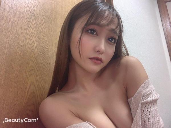 愛瀬るか(咲野の花)スレンダー美巨乳美女エロ画像56枚のa01枚目