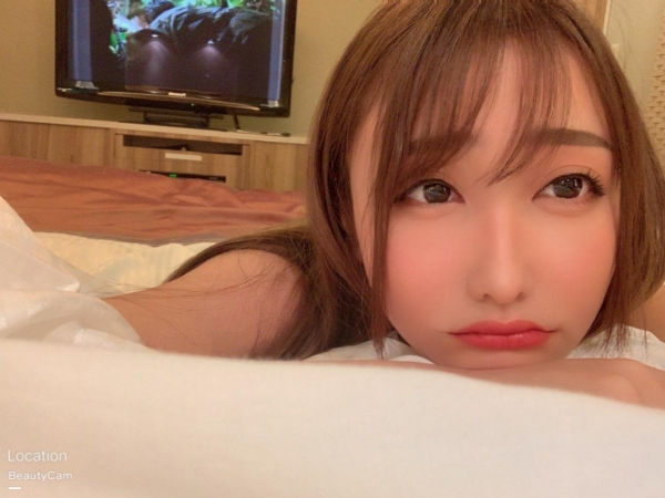 愛瀬るか(咲野の花)スレンダー美巨乳美女エロ画像56枚のa06枚目