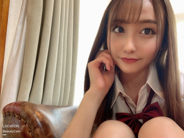 愛瀬るか(咲野の花)スレンダー美巨乳美女エロ画像56枚のa11枚目