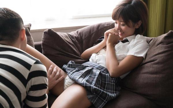 女子高生エロ画像 制服JKの初々エッチ105枚のa085番