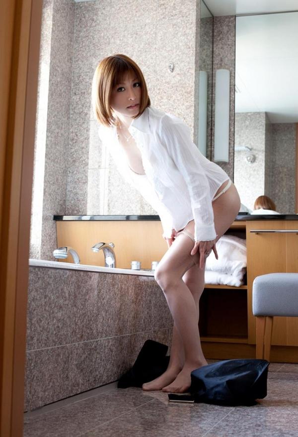 懐かしのエロス 朝日奈あかり スレンダー美巨乳美女エロ画像70枚の2