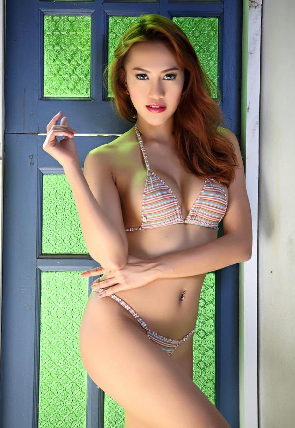東南アジアのスレンダー美巨乳なお姉さんヌード画像44枚の29枚目