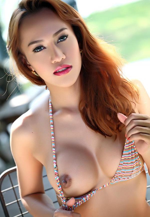 東南アジアのスレンダー美巨乳なお姉さんヌード画像44枚の37枚目