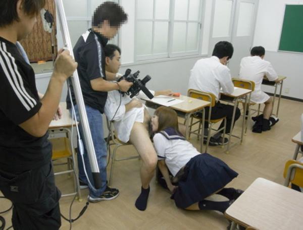 AV撮影現場画像60枚の11枚目