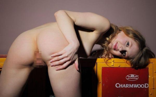 外国人ヌード画像 東欧のパイパン美女裸身82枚のa055
