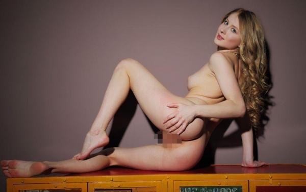 外国人ヌード画像 東欧のパイパン美女裸身82枚のa061