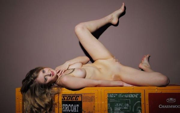 外国人ヌード画像 東欧のパイパン美女裸身82枚のa063