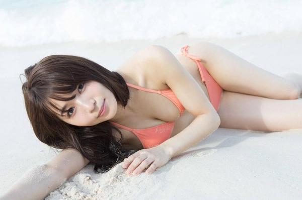 傳谷英里香(でんやえりか)の初脱ぎ!アイドル水着画像100枚の008枚目