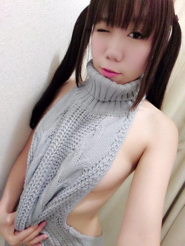 童貞を殺すセーターにハマる自撮り女子画像75枚のa024番